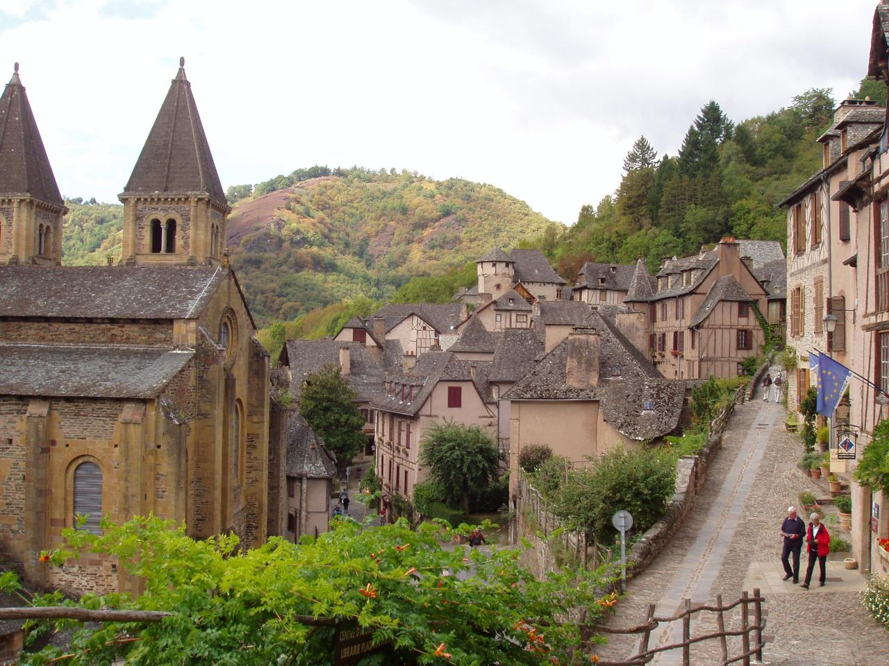 Aveyron  Conques