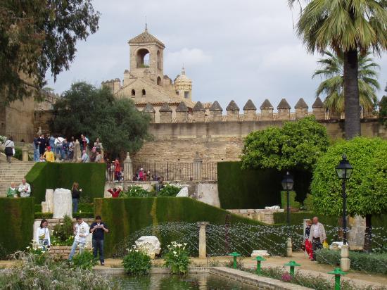 jardin de l'alcazar cordoue
