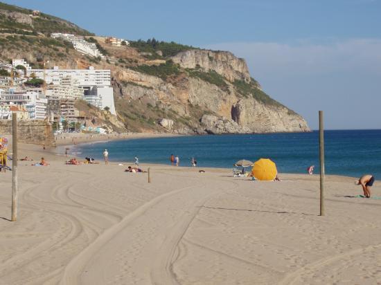 Sesimbra la plage