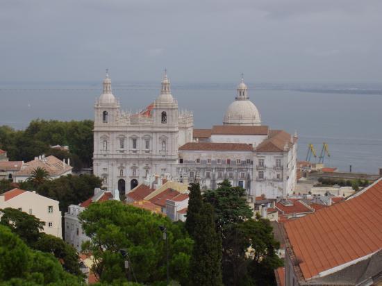 Lisbonne  santa lucia