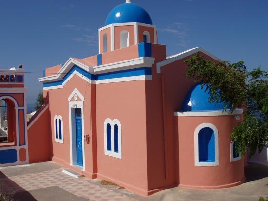 chapelle Bysantine à Oia
