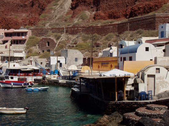 port de pêche d'Ammoudi
