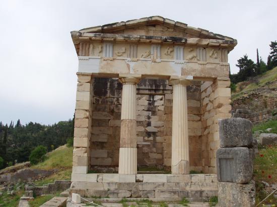 le trésor des Atheniens