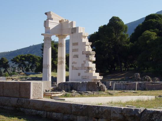 Epidaure temple d'Asclépios