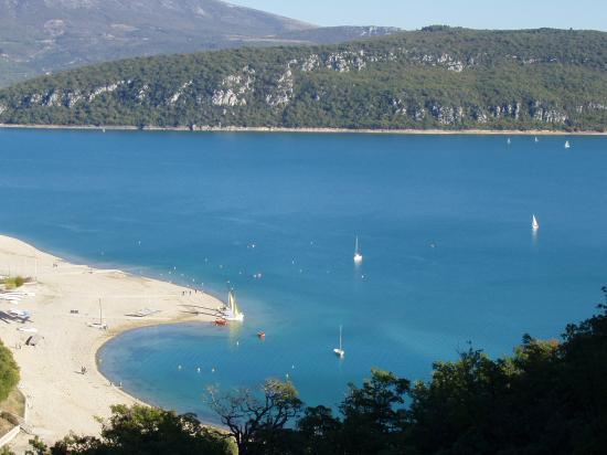 lac de sainte Croix sur Verdon