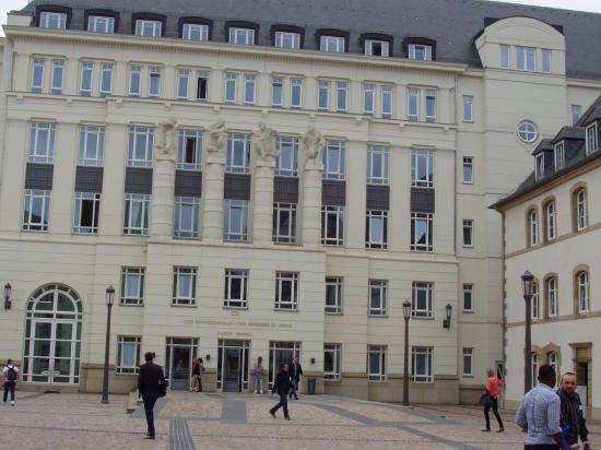 Luxembourg cité judiciaire