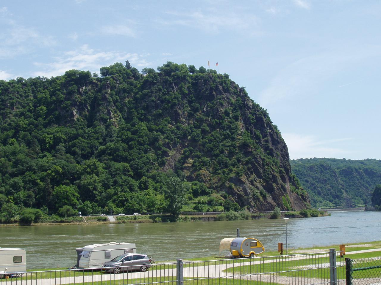 saint Goar am Rhein  le rocher de la lorelei