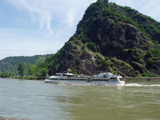 St Goar am Rhein  le rocher de la Lorelei