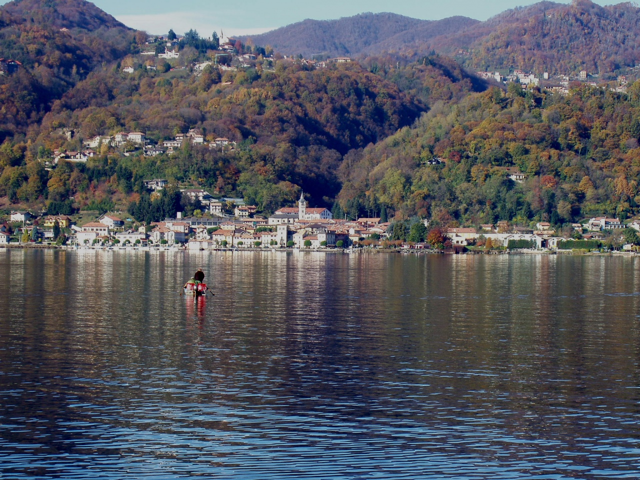 Orta  le lac