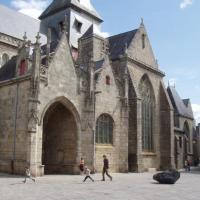 Guérande collégiale st Aubin