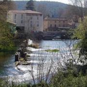 Fontaine-de-Vaucluse- la Sorgue