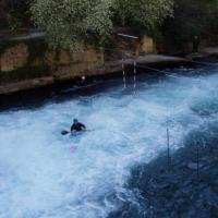 Fontaine-de-Vaucluse canoë kayac sur la Sorgue