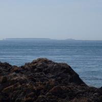 pointe de Goury   île Anglo-Normande au loin