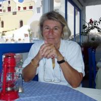 Santorin- pause déjeuner
