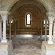 Abbaye de fontfroide la salle capitulaire