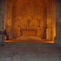 Abbaye de fontfroide l'église abbatiale