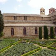 Abbaye de fontfroide  les jardins