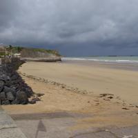 Arromanches les bains  la plage