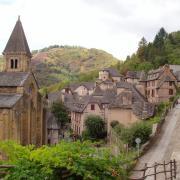 Conques le village