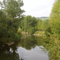 Najac sur les bords de l'Aveyron