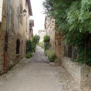 ruelle menant au château