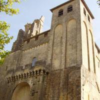 Abbatiale de saint Vit Sénieur  clocher du XIIIè