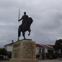 Batalha statue de Nuno Alvarès Pereira