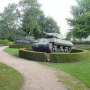 Bayeux  vestiges de la 2è guerre mondiale