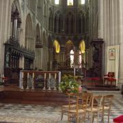 Bayeux  le choeur de la cathédrale