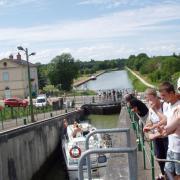 cuffy le Guétin  pont canal canal latéral à la Loire