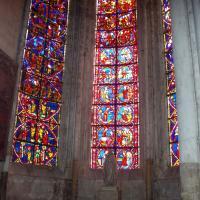Bourges  vitraux de la cathédrale st Etienne