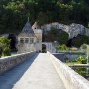 brantome pavillon Renaissance et tour ronde