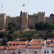 Castelo sao Jorge Lisbonne