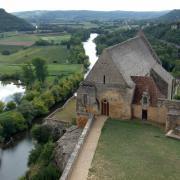 chateau-de-Beynac  l'église