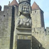Entrée de la citadelle -  dame Carcas