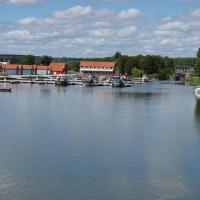 Decize  la jonction du canal latéral à la Loire