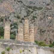 delphes-le temple d'Apollon