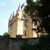 saint Léon sur Vézère le chateau de Clérand