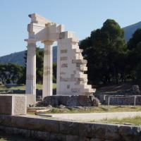 epidaure- le temple d'Asclépios