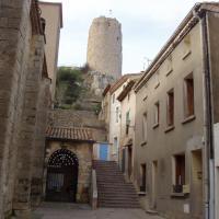 Gruissan  entrée du château