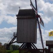Hondschoote  Moulin  de nordmeulen
