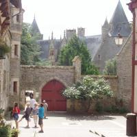 Josselin  l'entrée du château