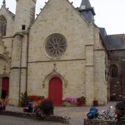 Malestroit église saint Gilles