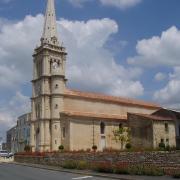 Damvix l'église saint Guy