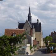 Montresor la collégiale saint Jean Baptiste