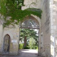 Montresor  l'entrée du château