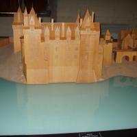 Montsoreau maquette du château
