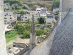 Montsoreau  vue sur le village
