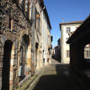 Fanjeaux rue du village
