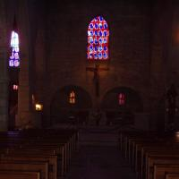 ND des sablons intérieur de l'église